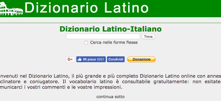 Online latino, come imparare questa lingua con i nuovi strumenti.